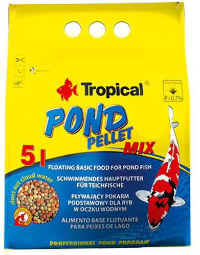 Tropical Pond Pellet Mix 5 l