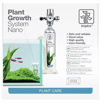 Tropica Plant Growth CO2-systeemi